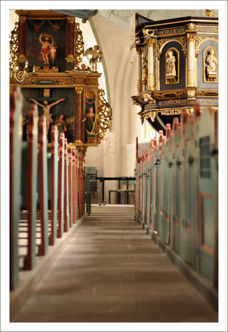 Die kleine Kirche in Büsum