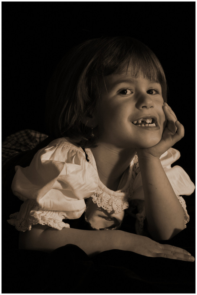 die kleine Lara von Ginds