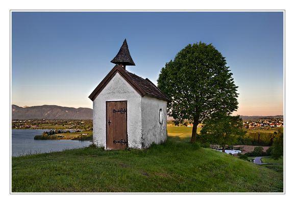 Die kleine Mesnerhauskapelle....