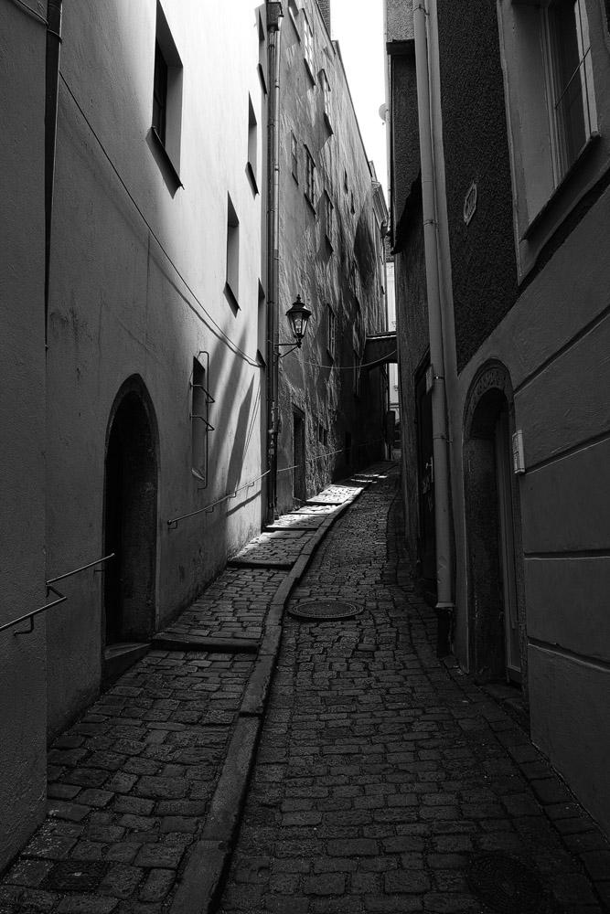 Die Kleine Messergasse in Passau