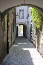 Die kleine Seitengasse in Bern