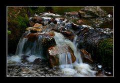 Die kleine Wasserfälle