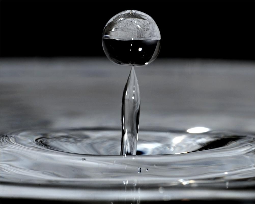 Die kleine Wasserkugel