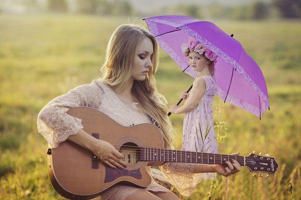 Die kleine Zuhörerin
