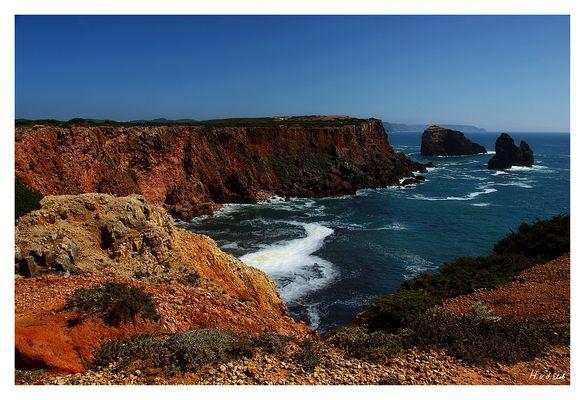 Die Klippen der Westküste