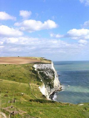 Die Klippen von Dover