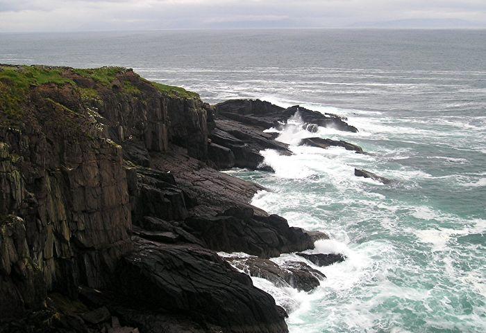 die klippen von irland...