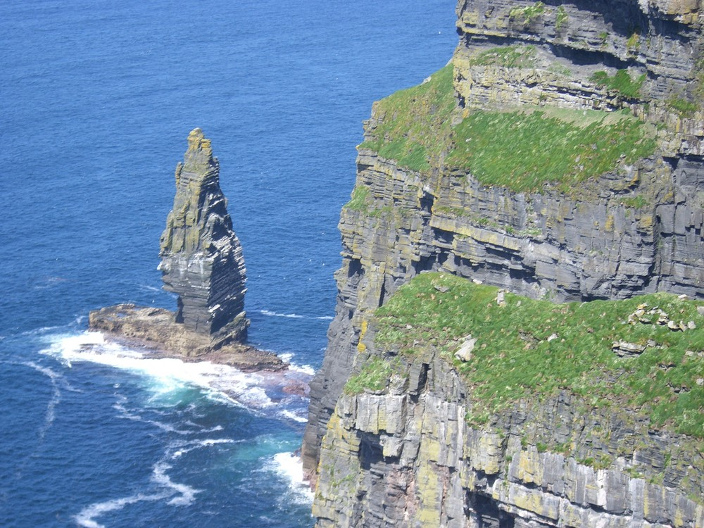 die Klippen vonMooher, Irland