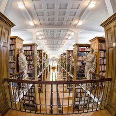 Die Klosterbibliotheh des Klosters Marienstatt