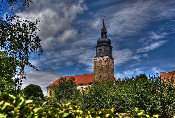 Die Klosterkirche Thalbürgel