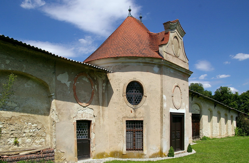 Die Klostermauer in Inzigkofen