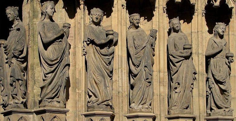 Die klugen Jungfrauen (Erfurter Dom)