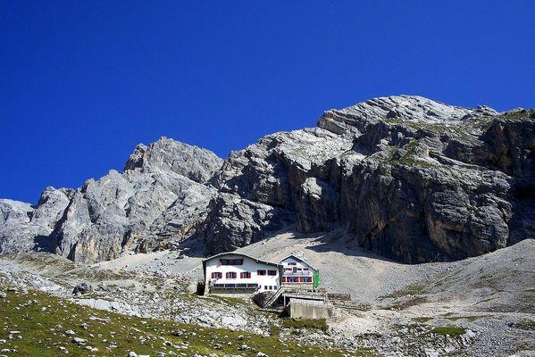 Die Knorrhütte - Auf dem Weg zur Zugspitze