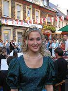 Die Koblenzer Weinkönigin Vivien I.