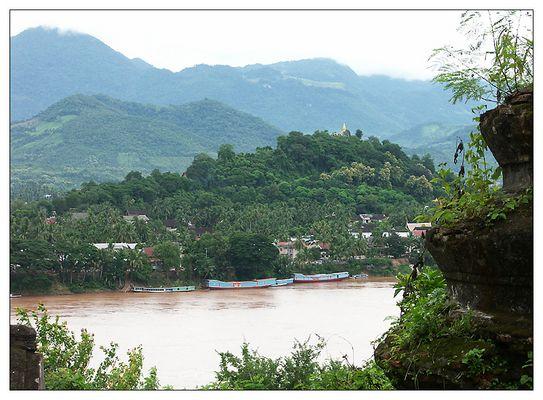 Die Königsstadt am Menam Kong - Luang Prabang, Laos