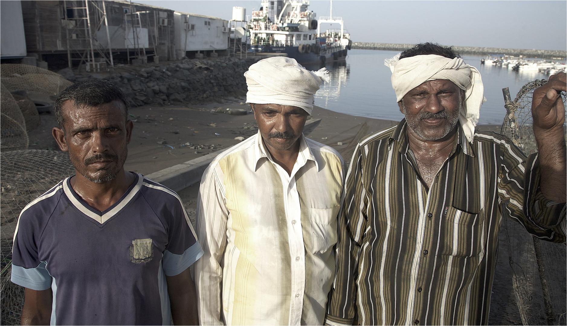 Die Krabbenfaenger von Fujeirah...