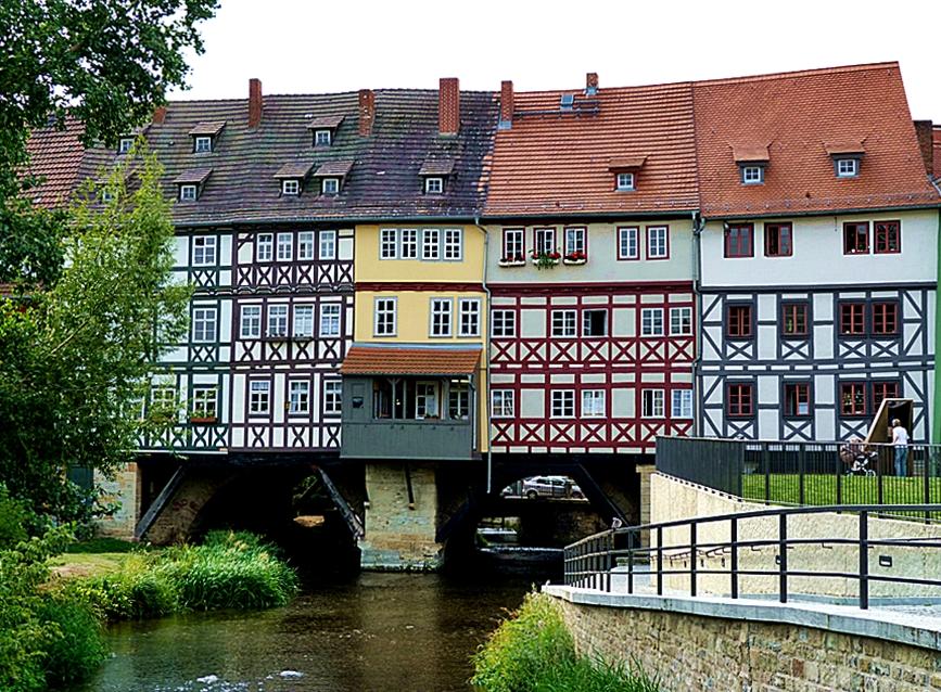 Die Krämerbrücke . . .