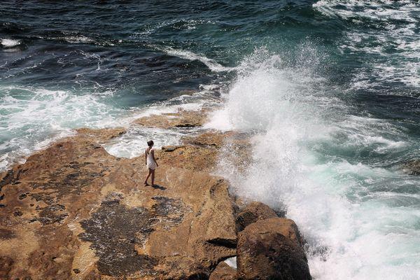 Die Kraft der Wellen.
