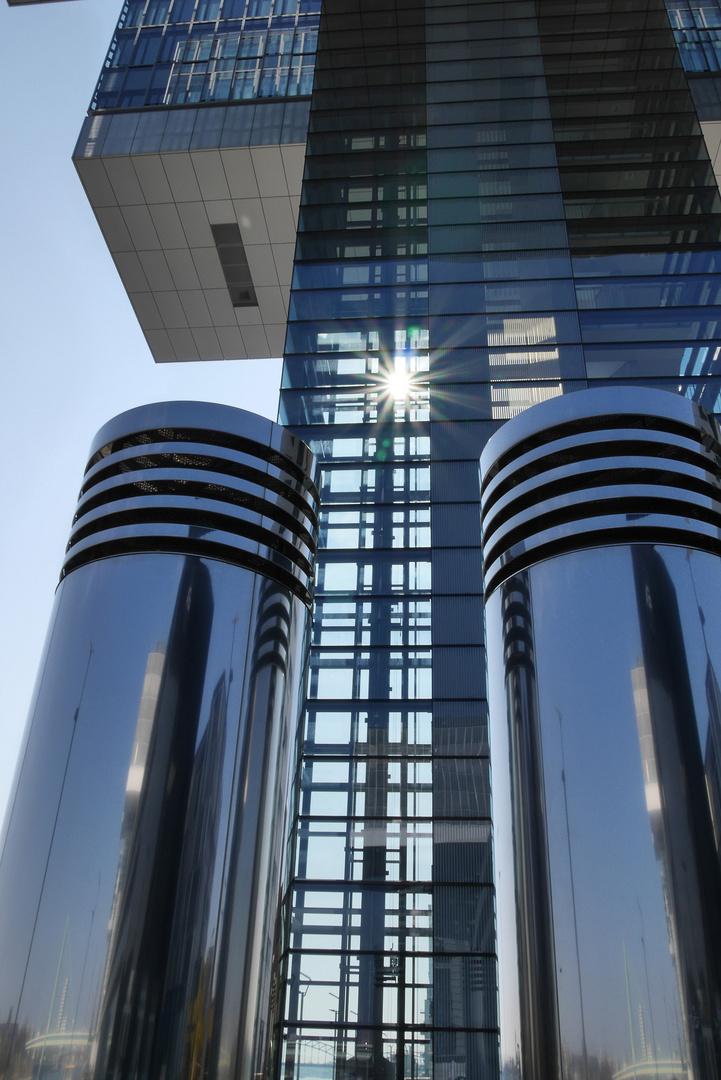 Die Kranbauten von Köln