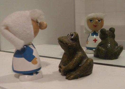 Die Krankenschwester und der Frosch