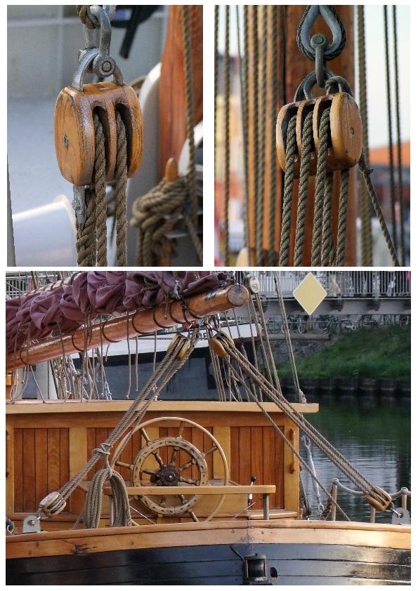 """Die """"Krik Vig"""" im Heimathafen Lübeck"""