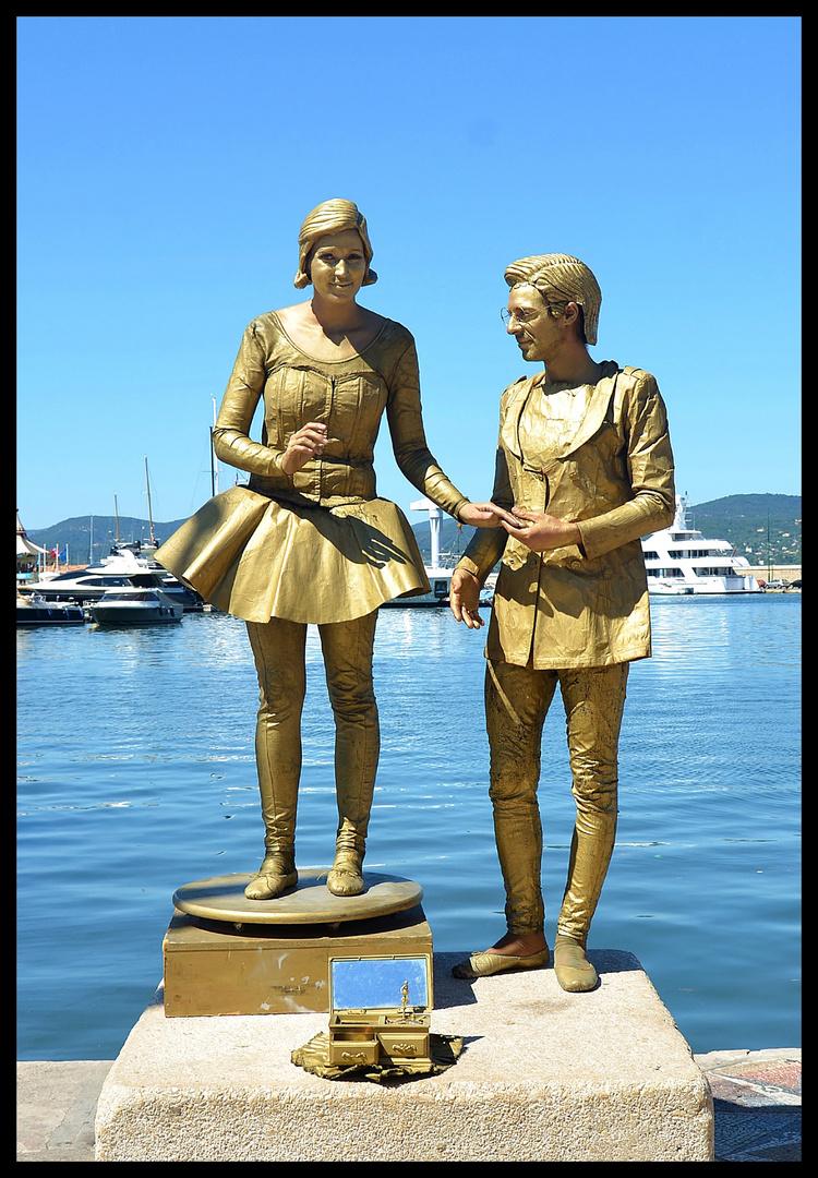 Die Künstler von Saint Tropez