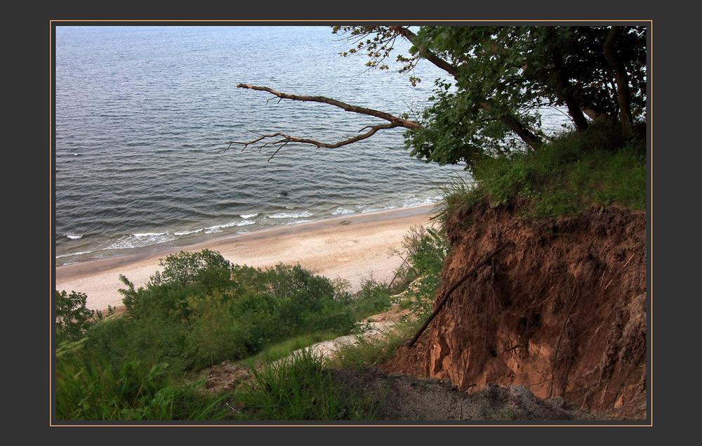 Die Küste bröckelt