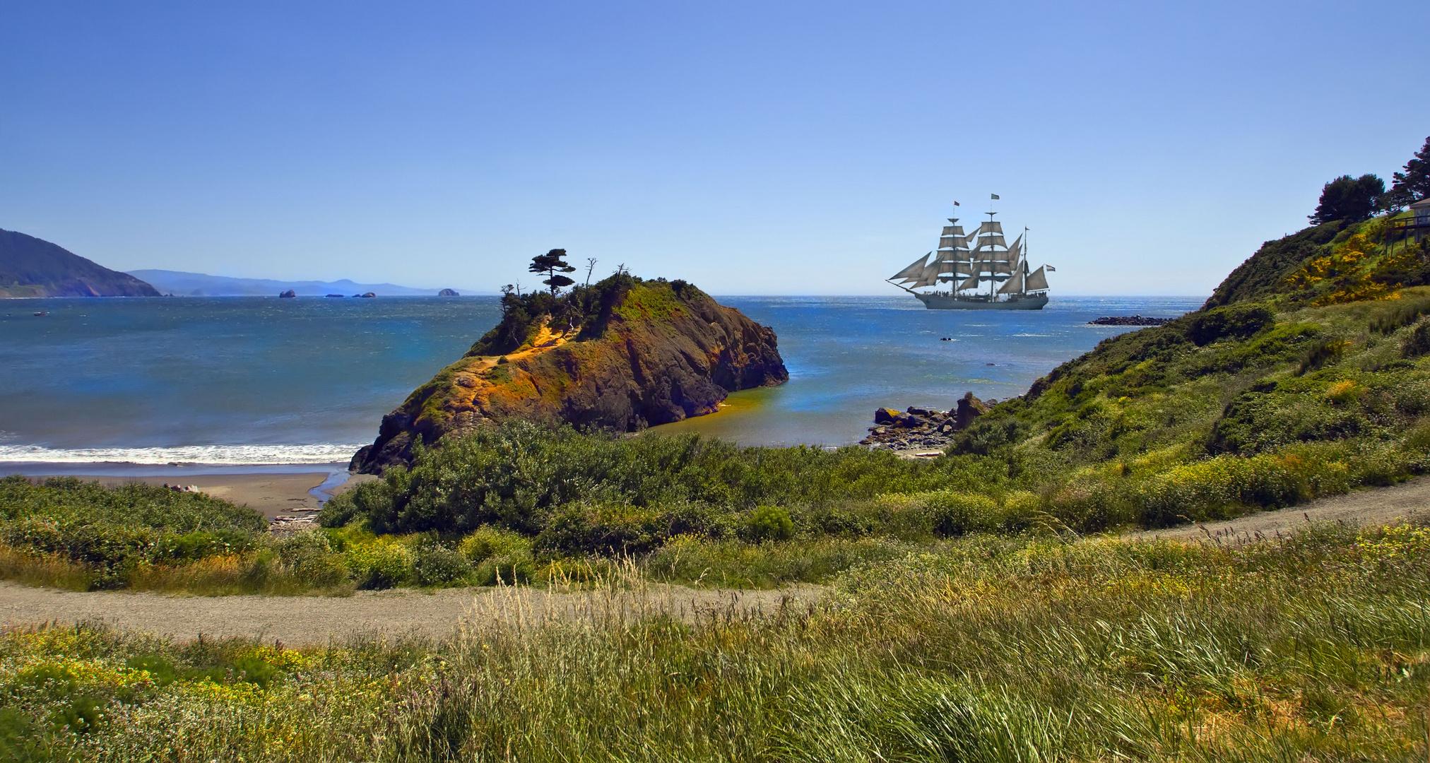 Die Küste Oregons