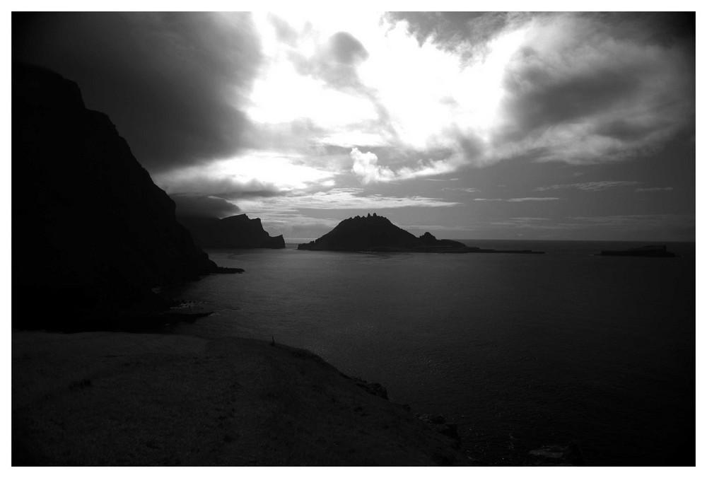 Die Küstenlinie von Dasdalur