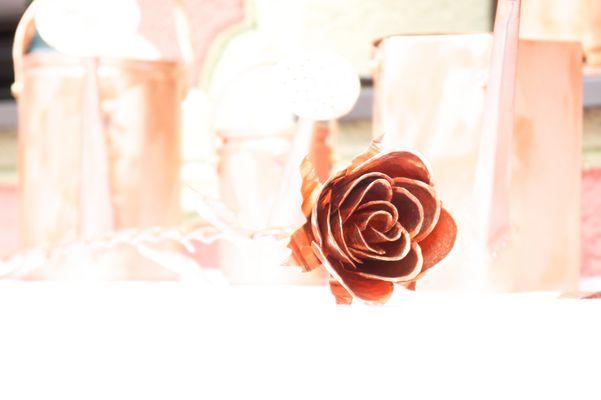 Die kupferne Rose