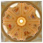 Die Kuppel der Frauenkirche zu Dresden ...