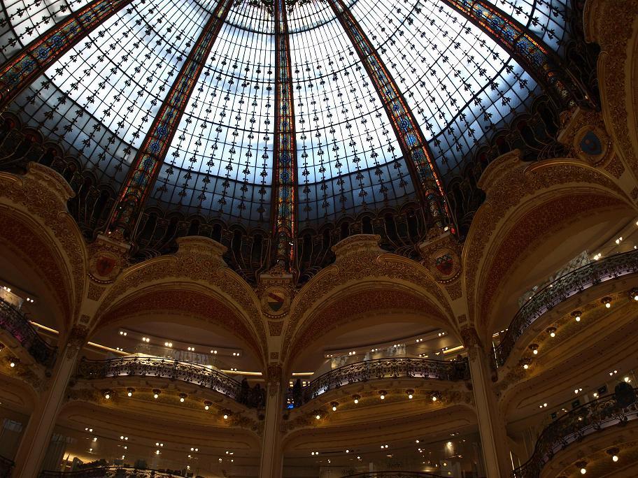 Die Kuppel der Galeries Lafayette