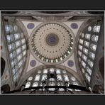 Die Kuppel der Mihrimah Sultan Camii