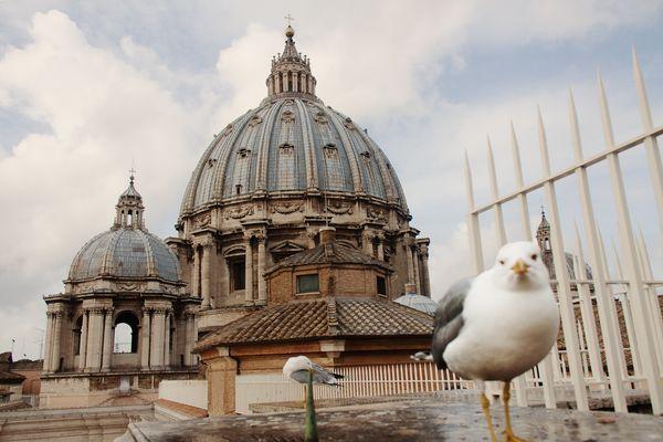 Die Kuppel des Petersdoms