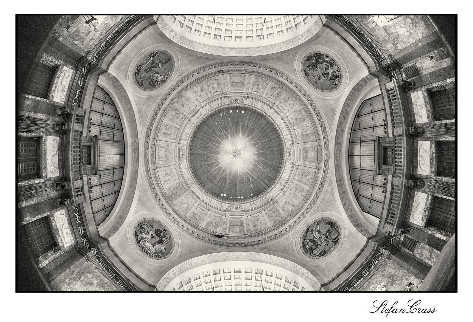 Die Kuppel des Wiesbadener Kurhauses