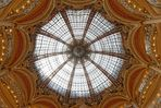 Die Kuppel vom La Fayette Paris