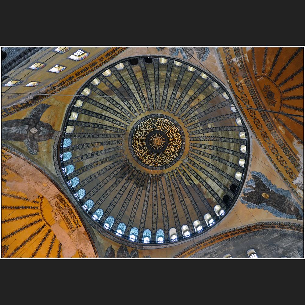Die Kuppeln der Ayasofya