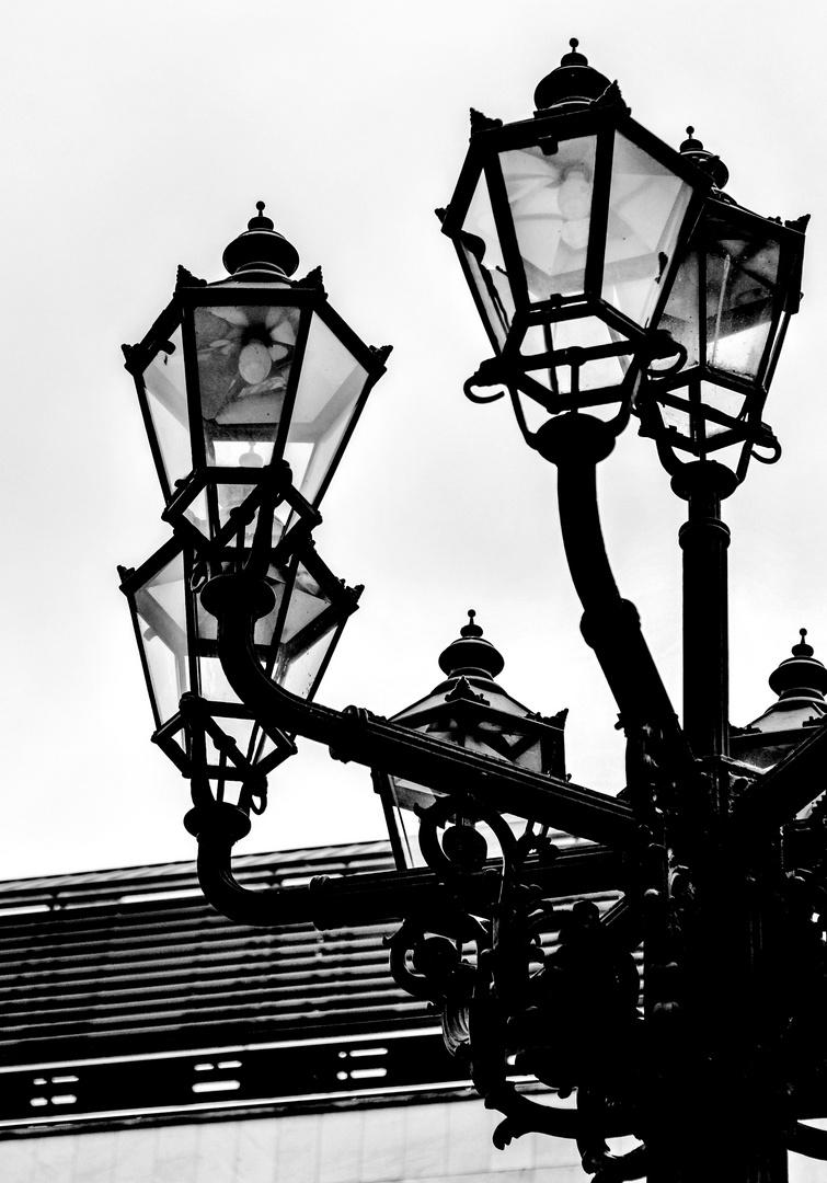Die Lampe im kalten