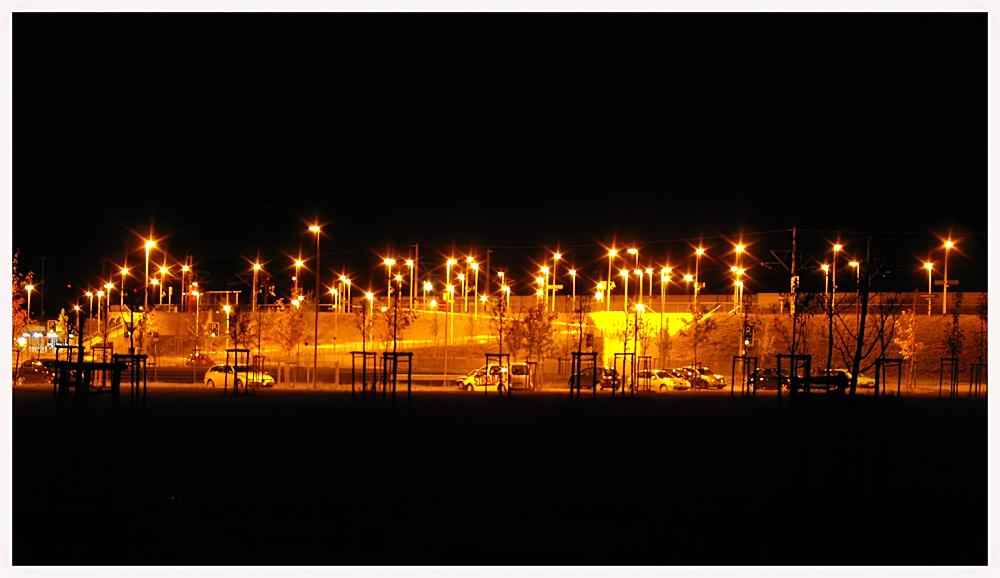 die Lampen...