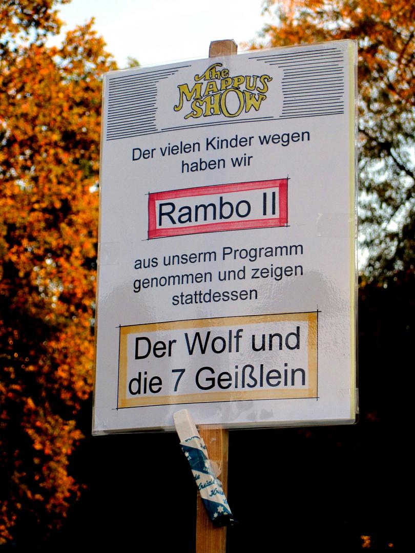 Die Landesregierung hat Kreide gefressen...genützt hat es dem Wolf im Märchen auch nicht!