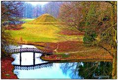 Die Landpyramide, gesehen vom Herrmannsberg ..