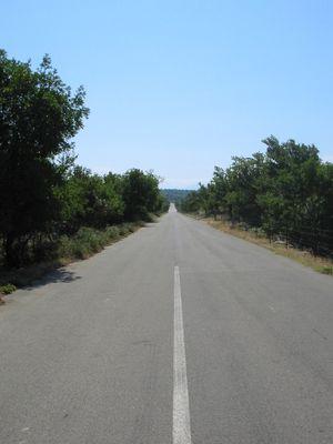 Die lange Straße ins Nichts