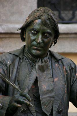 Die lebende Statue