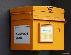 Die Leiden des Briefkastens