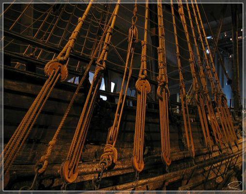 Die Leinen der Vasa