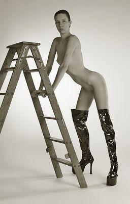 ...Die Leiter...