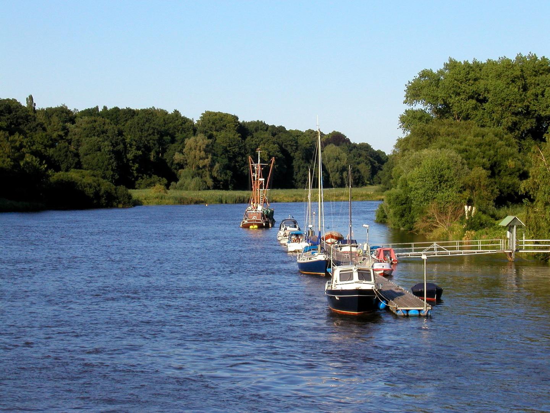 Die Lesum In Bremen Nord Foto Bild Landschaft Bach