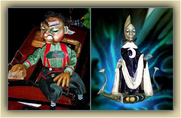 Die letzte (14.) Collage zum Thema Puppen