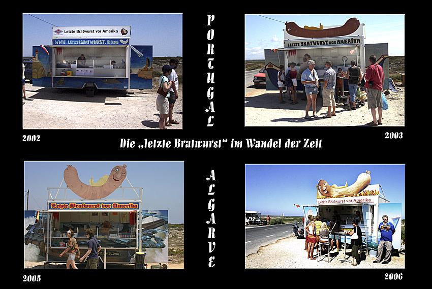 """Die """"letzte Bratwurst"""" im Wandel der Zeit ;-)"""