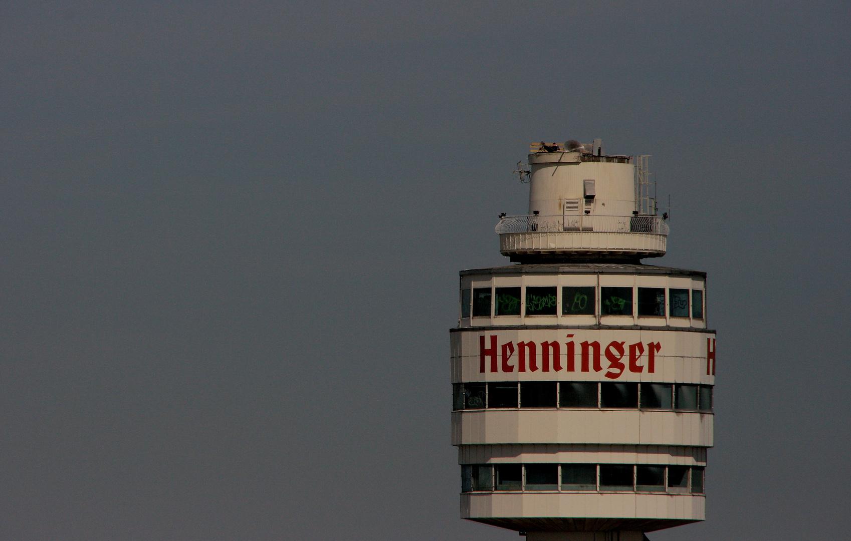 die letzte Runde: Henninger Turm